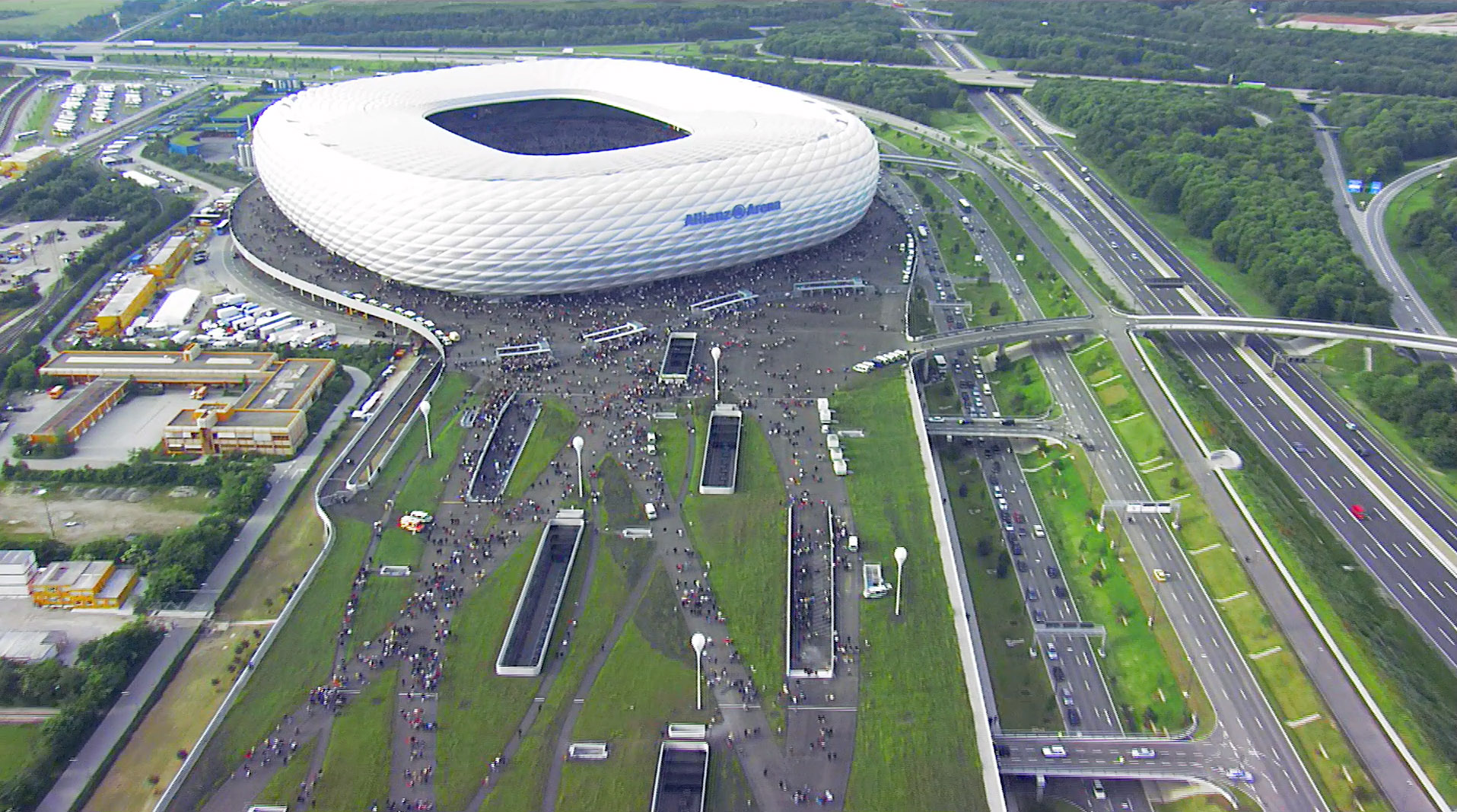 Besucherfilm: Allianz Arena Baudokumentation
